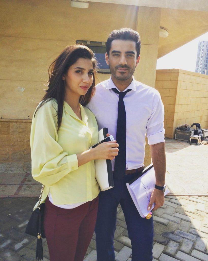 Adeel-Hussain-With-Mahira-Khan