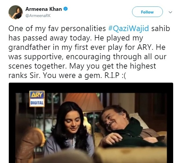 Armeena-Rana-Khan-About-Qazi-Wajid-Death