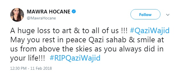 Mawra-Hocane-About-Qazi-Wajid-Death
